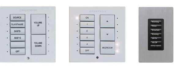 crestron switches